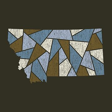 Montana Mosaic - Glacial Runoff by DesignSyndicate