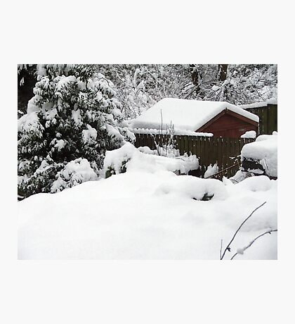At least I'm not snowed in... Photographic Print