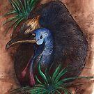 Cassowary by NoelleMBrooks