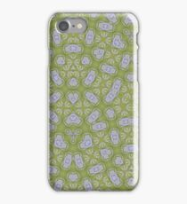 yellow modern Abstract Pattern  iPhone Case/Skin