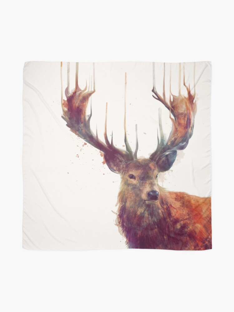 Alternate view of Red Deer Scarf