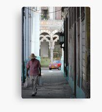 Streets of Havana Canvas Print