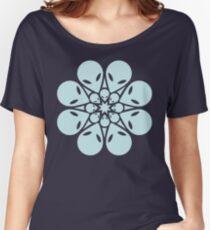 Alien / flower mandala Women's Relaxed Fit T-Shirt