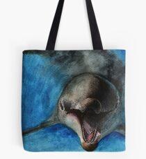 Watercolor Wildlife: Jubilant Tote Bag