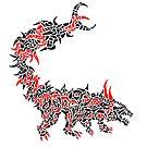 Fierce Chimeric Beast by Adam Heffler