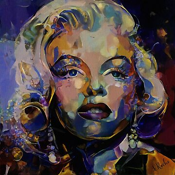 Hello Mary, Lea Roche paintings - Marylin by LEAROCHE