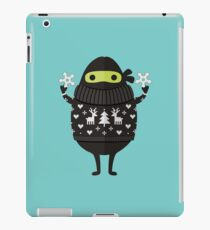 Ninjacado in Holiday Sweater iPad Case/Skin