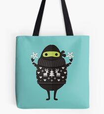 Ninjacado in Holiday Sweater Tote Bag