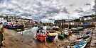 Mevagissey Harbour by Paul Thompson Photography