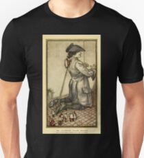 Gulliver's Travels by Jonathan Swift art Arthur Rackham 1899 0079 Lilliputian Tailors Unisex T-Shirt