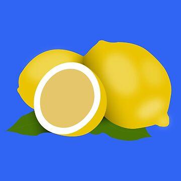 Lemon Pattern - Lemon by Soronelite