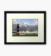 Plymouth Hoe Framed Print