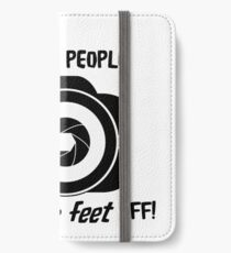 I Shoot People iPhone Wallet/Case/Skin