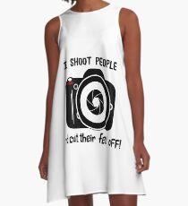 I Shoot People A-Line Dress