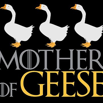 Mother of GEESE  by jazzydevil