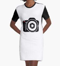 Camera for Photographer Graphic T-Shirt Dress
