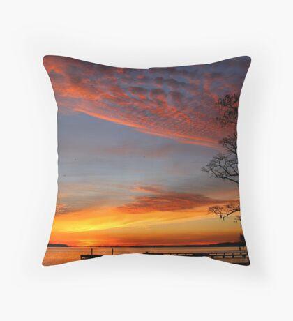 Bayview Estates Morning Throw Pillow
