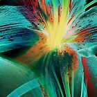 Colourful Lily Abstract by SexyEyes69