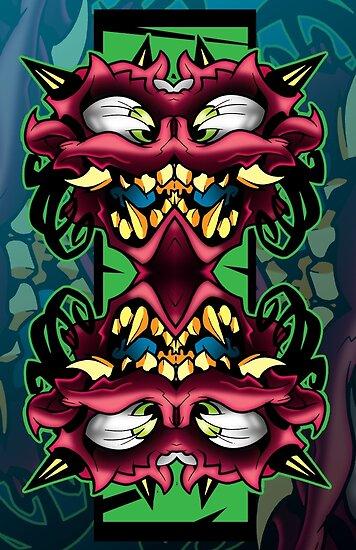 mirror demon by Jeremy Harburn