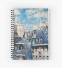Roofs of Montmartre Spiral Notebook
