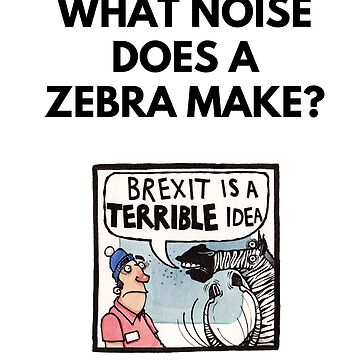 The noise a zebra makes by dotmund