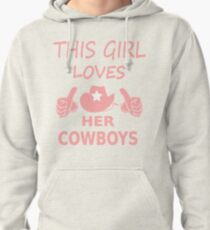 This Girl Loves Her Cowboys From Dallas Cute Football Cowgirl Tee Pullover  Hoodie 5fdfeadd0