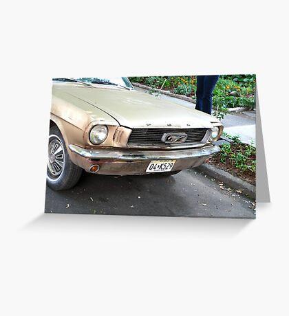 1964 Mustang Greeting Card