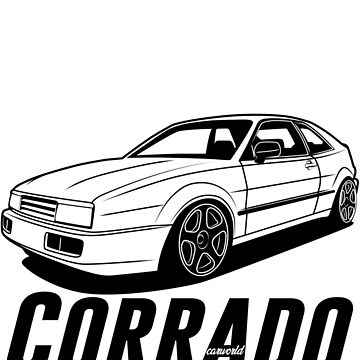 VW Corrado Best Shirt Design by CarWorld