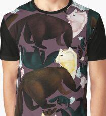 Sable Zibellina Marten Vintage Egg  Graphic T-Shirt