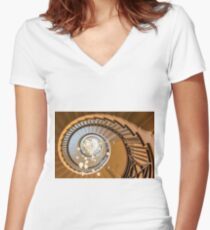 Spiral Women's Fitted V-Neck T-Shirt
