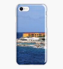a desolate Curacao landscape iPhone Case/Skin