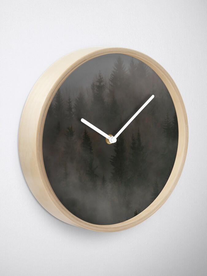 Horloge ''Mystic Wood': autre vue