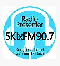 5KIxFM Kangaroo Island Community Radio Presenter Photographic Print
