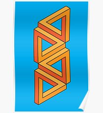 Impossible Shapes: Triangles Poster
