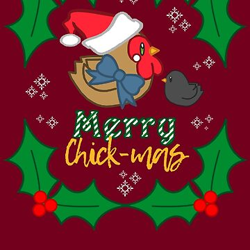 Merry Chick-mas! by KaiFx19