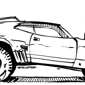 MAD MAX - Interceptor Stage 3 by robert1117