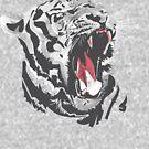 Tiger Face by frajtgorski
