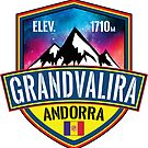 Ski Grandvalira Andorra Skiing Pyrenees Mountains by MyHandmadeSigns