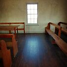 Inside Dunker Church by Bine