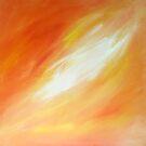 Orange Glow by ByCait