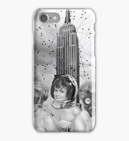 Black & White Collection -- We Built This City iPhone Case/Skin