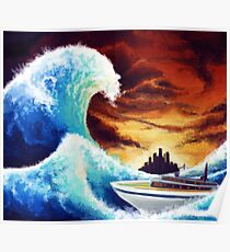 The Great Wave off Castelia Poster