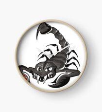 Scorpion  Clock
