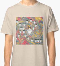 Abstract fibonacci cats Classic T-Shirt