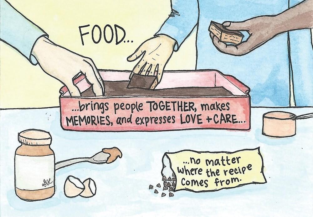 No Matter Where the Recipe Comes From by Gina Lorubbio