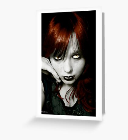 The lost girl Greeting Card