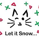 Let it Snow... Meow Mix! by EricaRobbin