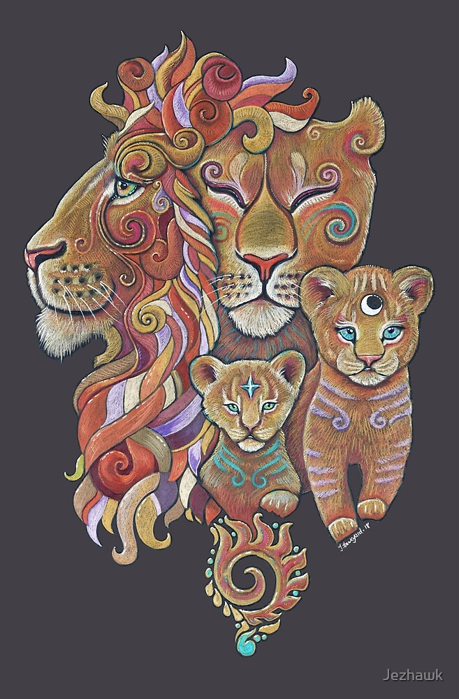 Lion Totem by Jezhawk