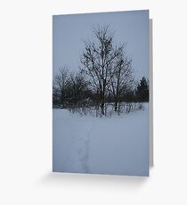 Dull Winter's Day Greeting Card
