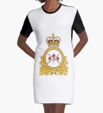 Badge of the Canadian Army Graphic T-Shirt Dress